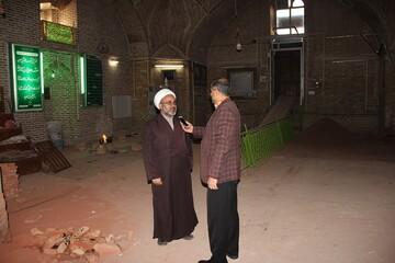 بازسازی مسجد مدرسه سردارین قزوین تا پایان سال جاری به اتمام می رسد