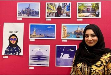 دو بانوی محجبه آثار هنری مسلمان میلواکی را به نمایش گذاشتند