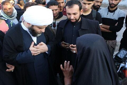 حضور رئیس سازمان تبلیغات در شهرک طالقانی ماهشهر