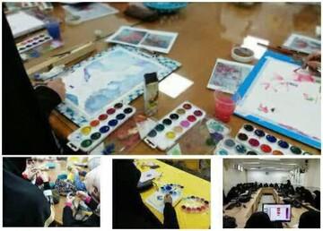 حضور ۵۵۰ طلبه خواهر در دوره پاییزه اداره آموزشهای مهارتی فرهنگی