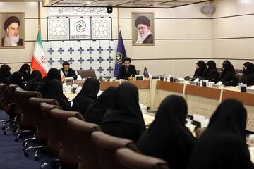 تصاویر/ اولین گردهمایی طلاب استعداد برتر حوزههای علمیه خواهران