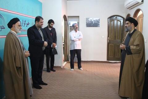 بازدید معاون حزب وحدت و عضو پارلمان ایالتی پاکستان از خبرگزاری حوزه