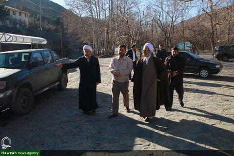 بالصور/ آية الله الأعرافي يتفقد مجمّع مفتاح بمشهد المقدسة