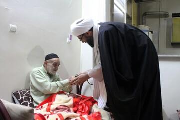 امام جمعه همدان به دیدار روحانیون پیشکسوت رفت+ عکس
