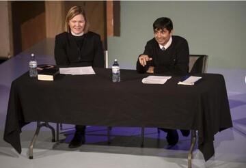 کشیش مسیحی و پزشک مسلمان در ویلمار اجلاس میان ادیانی برگزار کردند