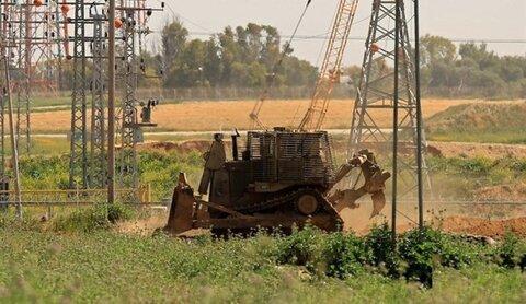 توغل محدود للإحتلال الاسرائيلي شمال قطاع غزة