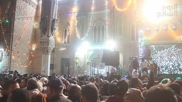 مصریها سالروز ورود سر مبارک امام حسین(ع) به مصر را گرامی داشتند+ تصاویر
