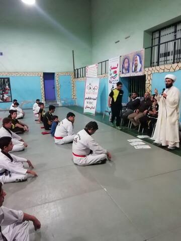 تصاویر شما/ فعالیتهای تبلیغی- فرهنگی یکی از مبلغان سمنانی