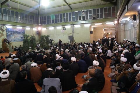 مراسم بزرگداشت مرحوم آیت الله محمد مهدی خلخالی در دفتر آیت الله العظمی سیستانی