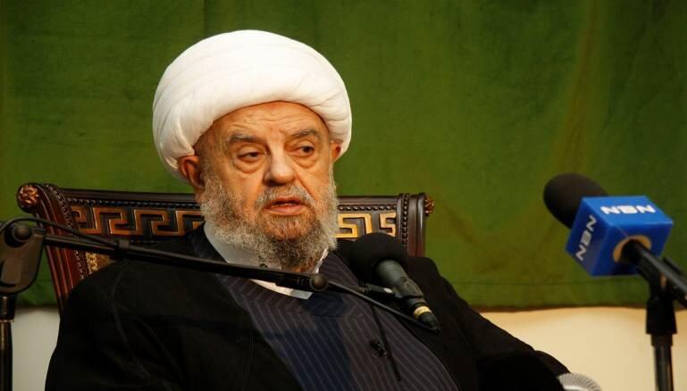 رئیس مجلس اعلای شیعیان لبنان اهانت به آیت الله العظمی سیستانی را محکوم کرد
