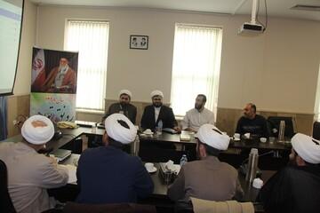 کارگاه آموزش سامانه «نجما» در حوزه علمیه قزوین برگزار شد