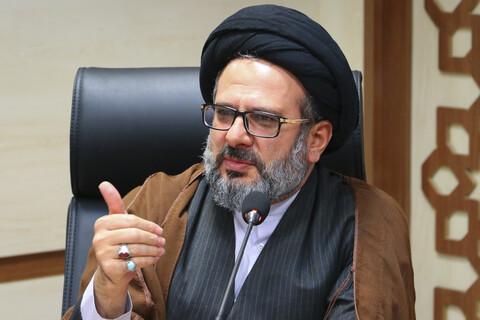 حجت الاسلام و المسلمین حسینی کوهساری، مسئول مرکز ارتباطات و بین الملل حوزه های علمیه