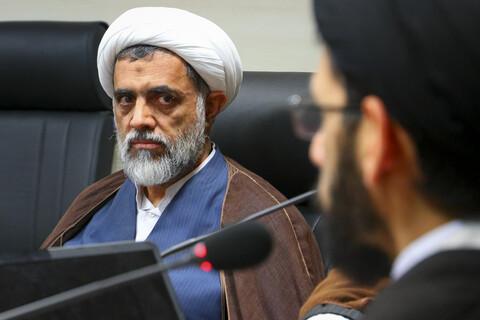 حجت الاسلام والمسلمین رجایی نیا، مدیر دفتر برنامه ریزی و نظارت راهبردی حوزه های علمیه