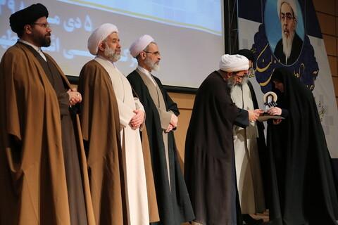 نویسندگان برترین مقالات همایش دیدگاه های علوم قرآنی آیت الله فاضل لنکرانی تجلیل شدند