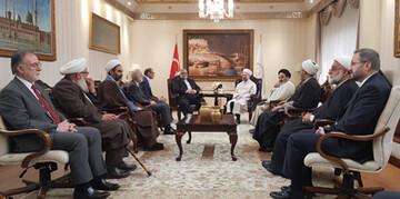 ابراهیمیترکمان با رئیس سازمان دیانت ترکیه دیدار کرد