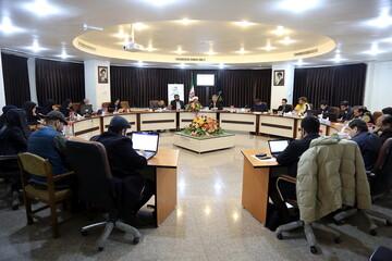تصاویر/ نشست خبری مراسم نکوداشت آیت الله سیدمحمد محقق داماد