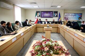 تصاویر/ نشست خبری مدیرکل و معاونین کمیته امداد امام امام خمینی(ره) قم