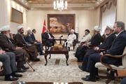 باید از ظرفیتهای مشترک و علمی فرهنگی ایران و ترکیه استفاده شود