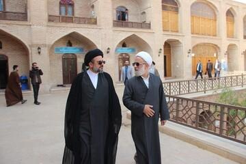 تصاویر/ بازدید مسئول مرکز ارتباطات و بین الملل حوزه از مدرسه علمیه صالحیه قزوین
