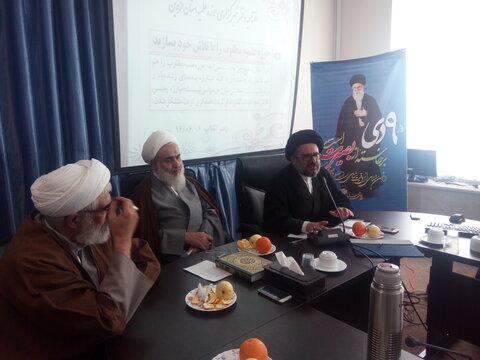 افتتاح دفتر خبرگزاری حوزه در قزوین