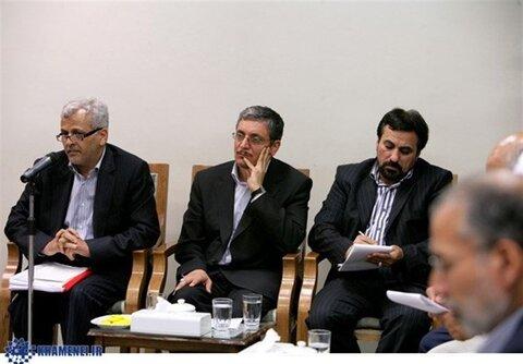 جلسه رهبر انقلاب با نمایندگان کاندیداهای ریاست جمهوری 88