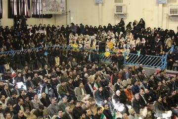 تصاویر/ تجمع گرامیداشت حماسه ۹ دی در کردستان