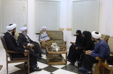 تصاویر/ دیدار دختران شیخ زکزاکی با دبیرکل مجمع جهانی اهل بیت(ع)
