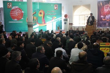 تصاویر/ بزرگداشت حماسه ۹ دی در شهرستان خوی