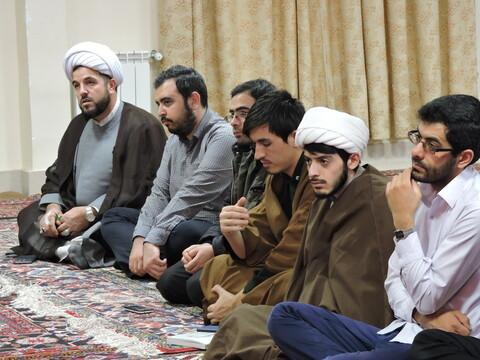 نشست بصیرت افزایی طلاب در مدرسه علمیه حضرت ولیعصر(عج) تبریز