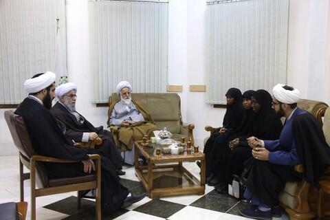 دیدار دختران شیخ زکزاکی با دبیرکل مجمع جهانی اهل بیت(ع)