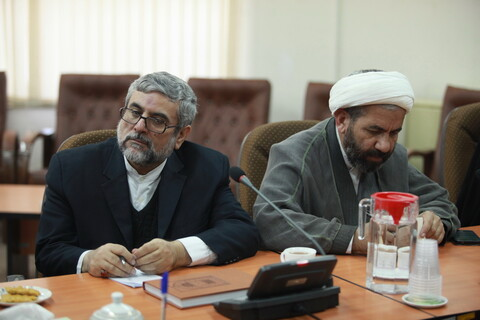 جلسه شورای روابط عمومی مراکز حوزوی با حضور آیت الله اعرافی