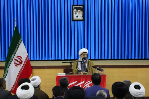 سلسله نشست های تبیین بیانیه گام دوم انقلاب در دفتر نماینده ولی فقیه در خراسان جنوبی