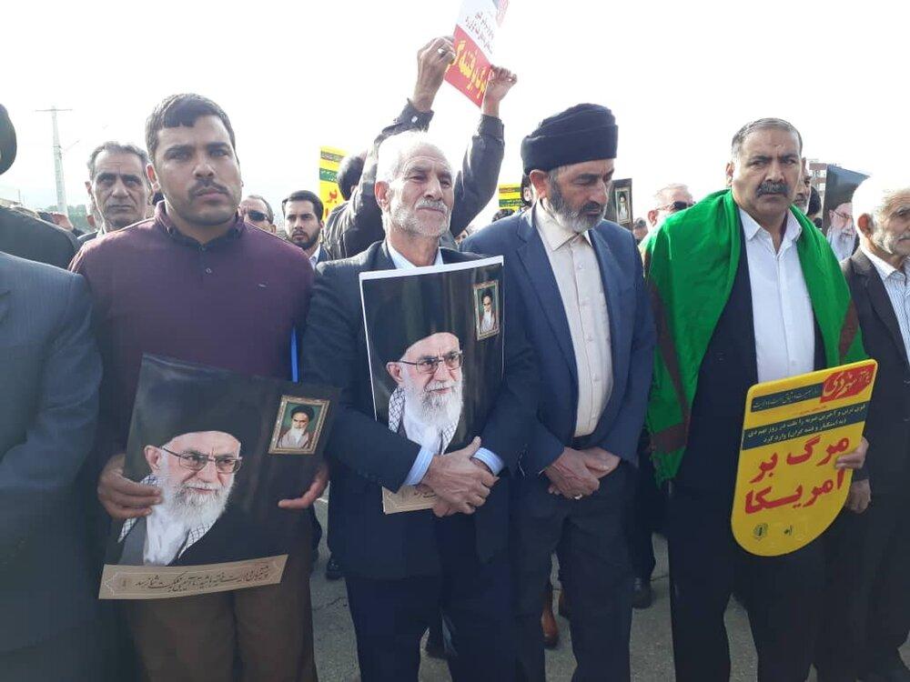 تصاویر/ بزرگداشت حماسه ۹ دی در خرم آباد