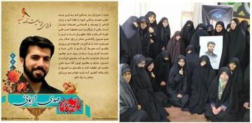 جمعی از طلاب جامعهالزهرا(س) با خانواده شهید ایمانی دیدار کردند