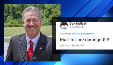وکیل حامی ترامپ به خاطر اهانت به مسلمانان و اقلیت ها، معلق شد