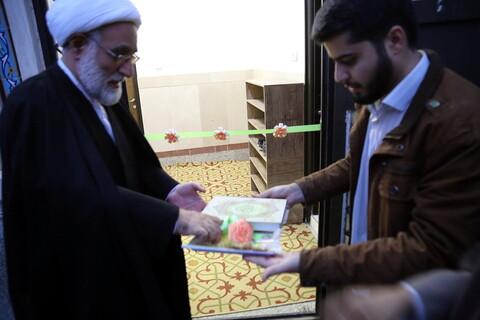 مراسم افتتاح مرکز مشاوره مدرسه علمیه امام کاظم(ع)