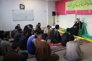 تصاویر/ جلسه درس اخلاق در مدرسه علمیه مهدی موعود (عج)