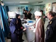 امام جمعه بویین زهرا از پرستاران تقدیر کرد+ عکس
