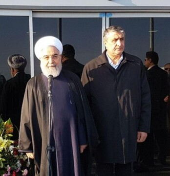 افتتاح سالن ویژه حجاج فرودگاه اردبیل با حضور رئیس جمهور