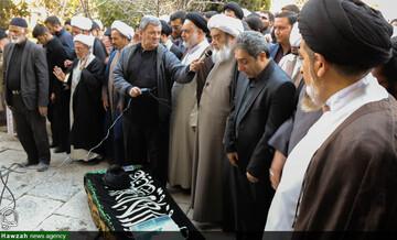 تصاویر/ تشییع پیکر آیت الله مهاجر در اصفهان