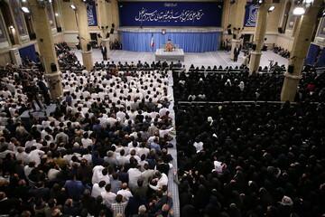تصاویر/ دیدار هزاران نفر از پرستاران کشور با رهبر معظم انقلاب