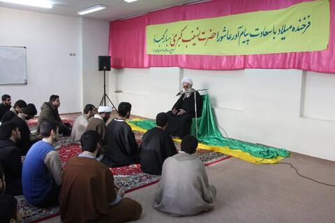 جلسه درس اخلاق در مدرسه علمیه مهدی موعود (عج)