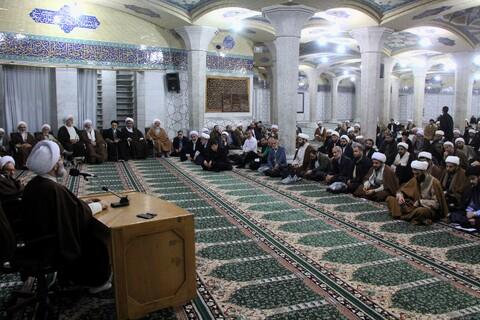 گردهمایی طلاب و روحانیون گیلانی مقیم قم