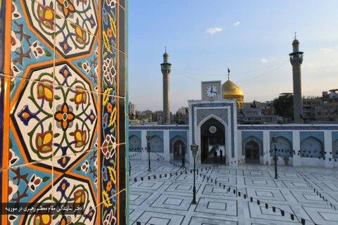 تصاویر جدید از حرم حضرت زینب سلام الله علیها