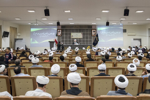 گردهمایی طلاب و فضلای شاهرودی مقیم قم