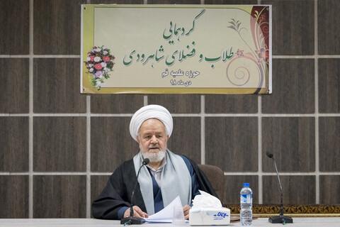 حجت الاسلام و المسلمین سعیدی، رئیس دفتر عقیدتی سیاسی فرماندهی کل قوا