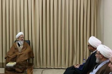 آية الله جوادي الآملي: لابد أن يجتمع كل الموحدين على كلمة التوحيد التي تجمعهم