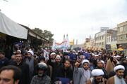 تصاویر / راهپیمایی خودجوش مردم قم به مناسبت شهادت سردار سلیمانی-۱