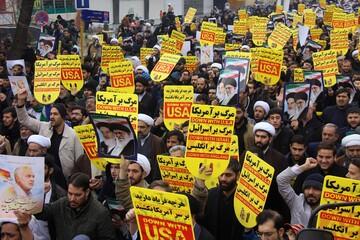 خروج کامل آمریکایی ها مهمترین مطالبه ملت های منطقه است
