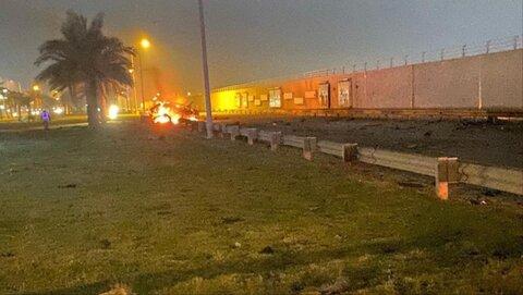انفجار نزدیک فرودگاه بغداد